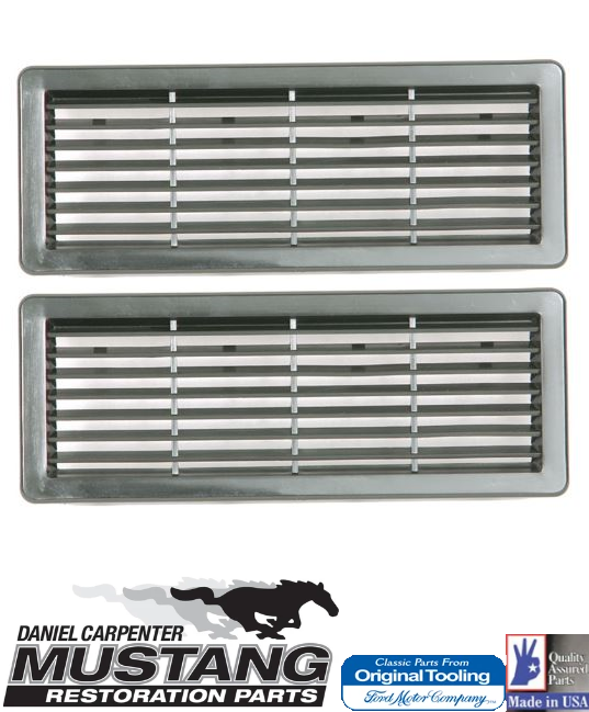 1971 1972 1973 Mustang Speaker Grille for Door Panel Pair - Daniel Carpenter