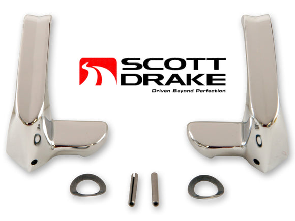 1964 1965 1966 Mustang Vent Window Handles - Scott Drake