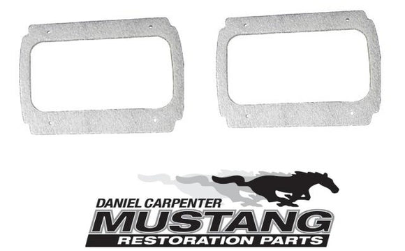 1964 1965 1966 Mustang Tail Light Housing Gasket Pair - Daniel Carpenter