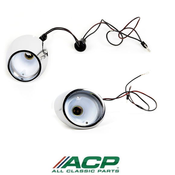 1964 1965 1966 Mustang Backup Light Assembly Pair - ACP