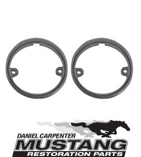 1964 1965 1966 Mustang Back Up Light To Body Gaskets Pair - Daniel Carpenter