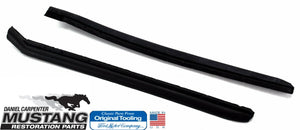 1965 1966 1967 1968 Mustang Coupe Quarter Window Vertical Weatherstrip - Daniel Carpenter