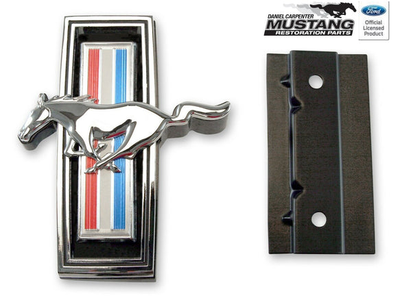 1969 Mustang Grille Horse Emblem Assembly - Daniel Carpenter