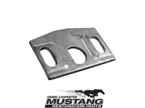 1970 1971 1972 1973 Mustang Hood Lock Catch Plate - Daniel Carpenter