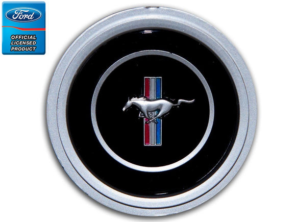 1970 1971 1972 1973 Mustang 3 Spoke Steering Wheel Emblem - Daniel Carpenter