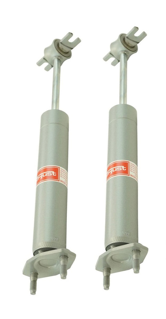 1965 1966 1967 1968 1969 1970 Mustang High-Pressure Front Gas-a-Just Shock Absorbers Pair - Scott Drake