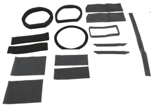 1969-1970 Mustang Heater Box Seal Kit w/AC - Re-Pops