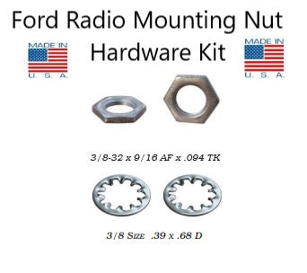 1965 1966 1967 1968 1969 1970 1971 1972 1973 Mustang Radio Mounting Nuts