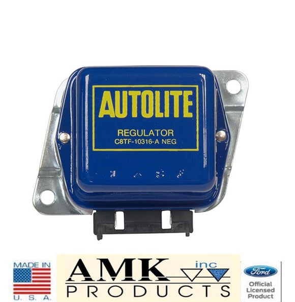 1968 1969 1970 1971 Mustang Voltage Regulator Autolite 55A (with A/C) - AMK
