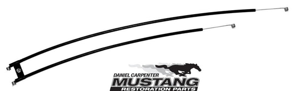 1969 1970 1971 1972 1973 Mustang Heater Control Cable (without A/C) - Daniel Carpenter