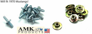 1970 Mustang Hood Scoop Stud Kit w/Nuts - AMK