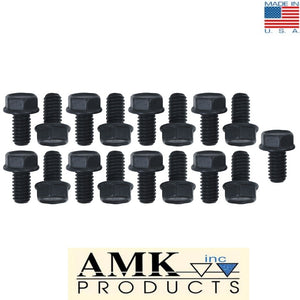 1965 1966 1967 1968 1969 1970 1972 1973 Mustang C-6 Transmission Oil Pan Bolts (17) - AMK