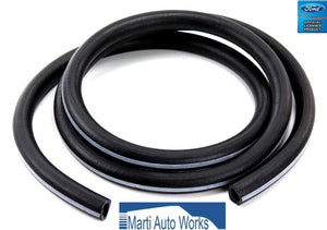 1964 1965 1966 1967 Mustang Heater Hoses w/ White Stripe - Marti Auto Works