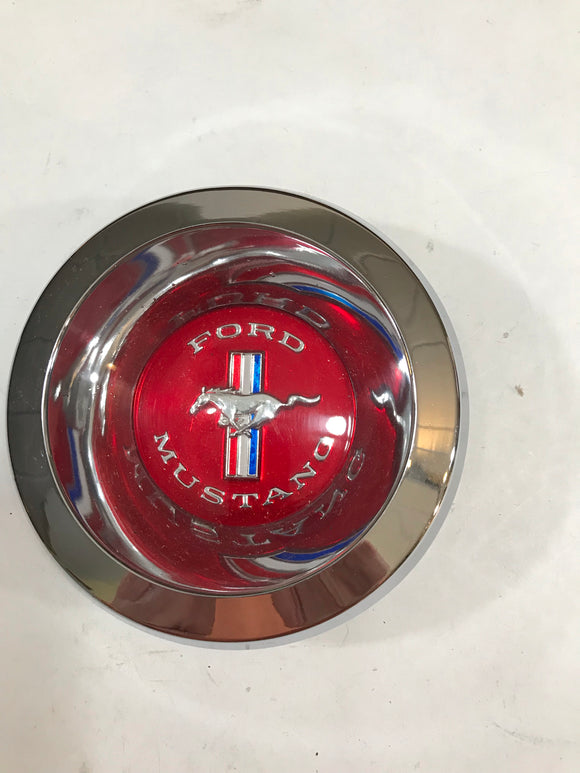 1967 1968 1969 Mustang Wire Hubcap Red Center Spinner NOS