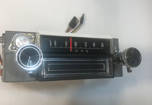 1967 Mustang AM 8 Track Radio Restored Guaranteed