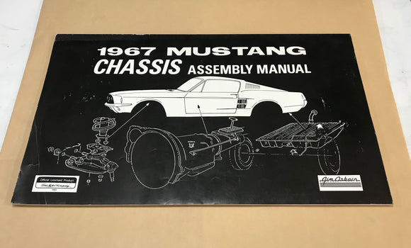 1967 Mustang Chassis Assembly Manual