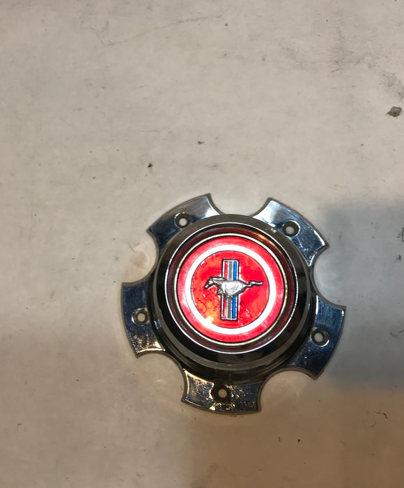 1973 Mustang Aluminum Wheel Center Cap Original