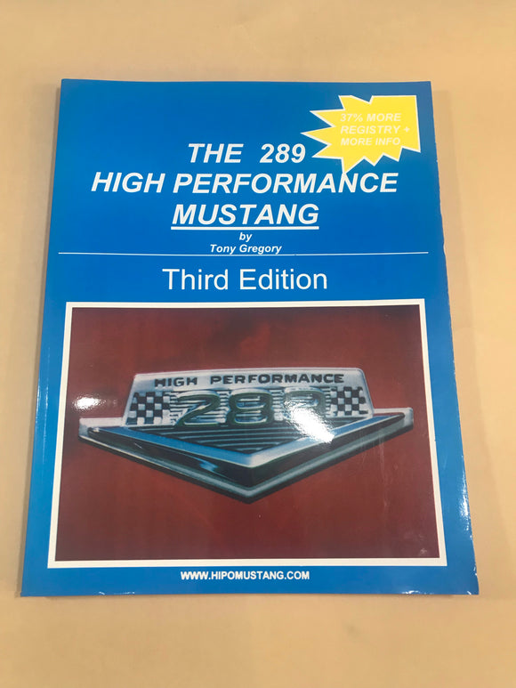 The 289 High Performance Performance Mustang Book K Code Hi Po