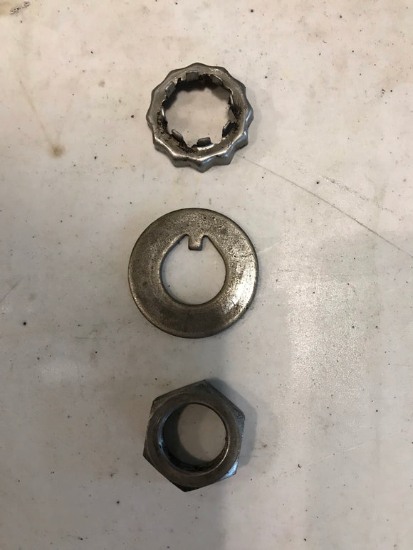 1968 1969 1970 1971 1972 Mustang Torino Disc Brake Spindle Nut Washer Safety Cup