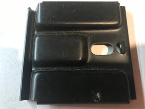 1965 1966 Mustang Falcon Battery Bracket Large with Label NOS