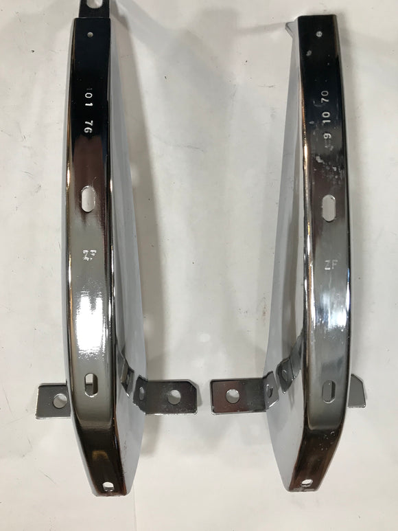 1971 Mustang Bumper Guards Front Lower Kit Pair NOS