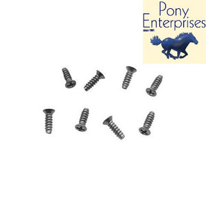 1965 1966 Mustang Taillight Bezel Screws Stainless Steel Set (8) - Pony Enterprises
