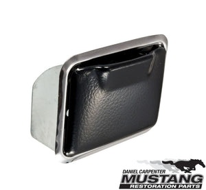 1969 1970 Mustang Rear Console Ashtray Bezel & Ashtray - Daniel Carpenter