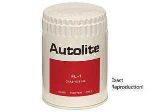 1967 1968 1969 1970 1971 1972 1973 Mustang Autolite Oil Filter White