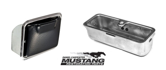 1969-1970 Mustang Ashtray Rear Console - Daniel Carpenter