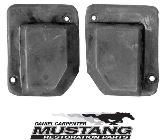1969 1970 Mustang Fastback Quarter Post Seals Pair - Daniel Carpenter