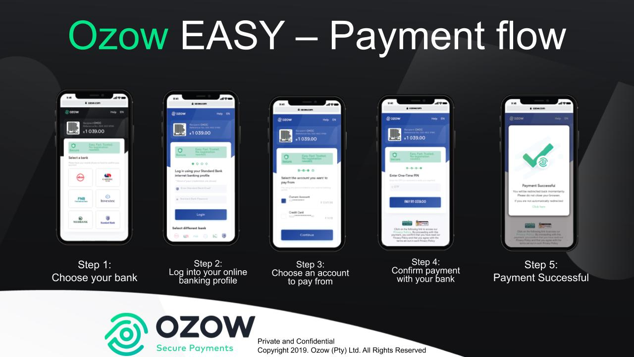 OZOW Payment Flow