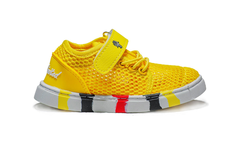 Mesh Edition Kids - Yellow Striped