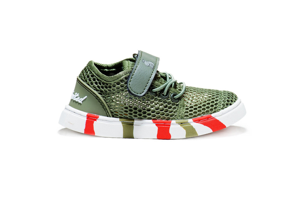 Mesh Edition Kids - Army Green