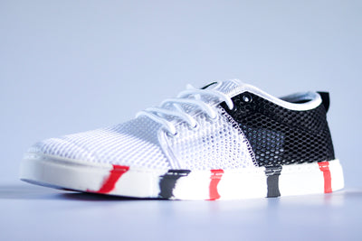 Mesh Edition - White & Black