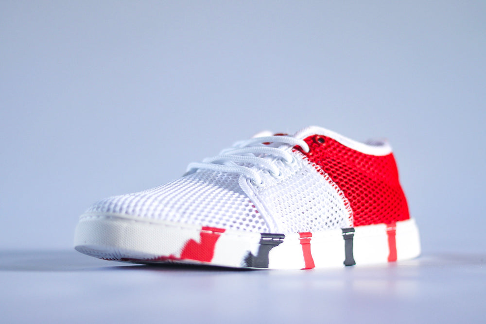 Mesh Edition - Red & White