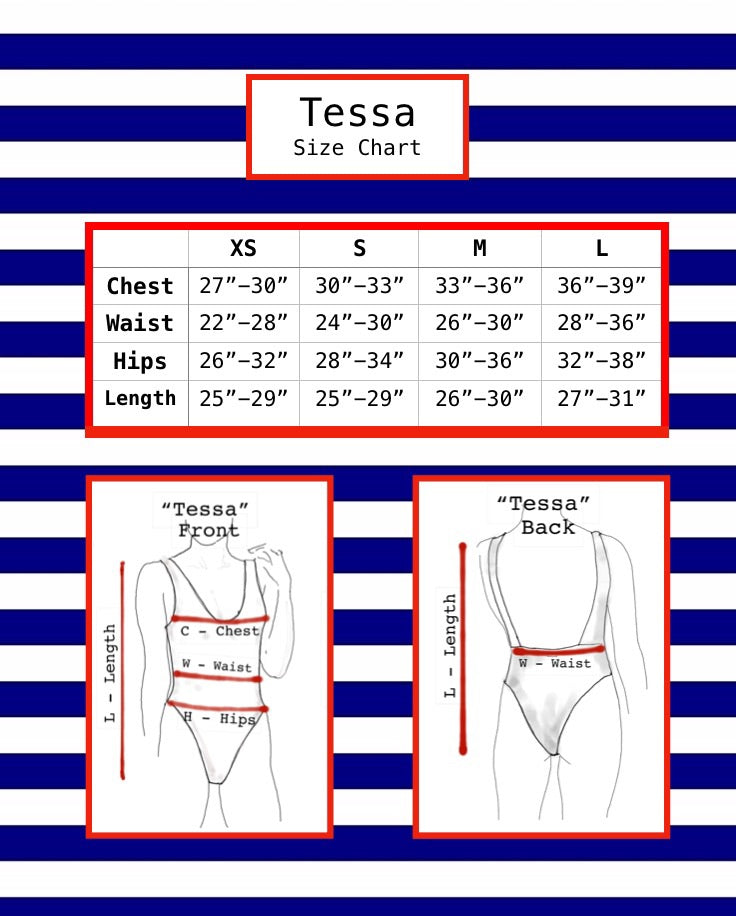 """Tessa"" One Piece Swimsuit"