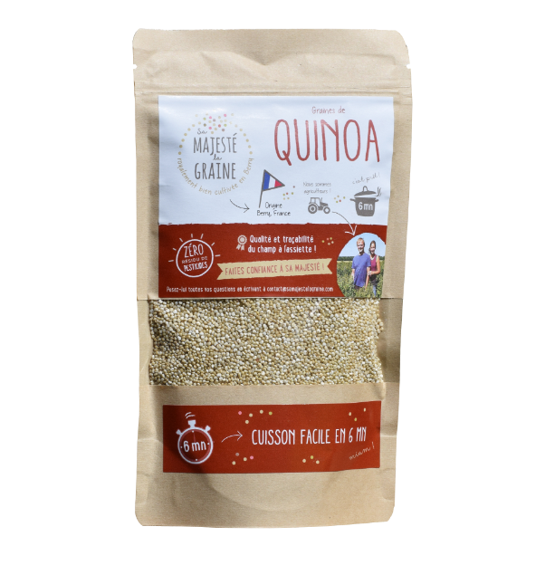 Quinoa blond du Berry