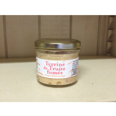 Terrine de truite fumée de France - direct producteur