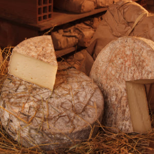 Tomme au foin - fromage en direct du producteur