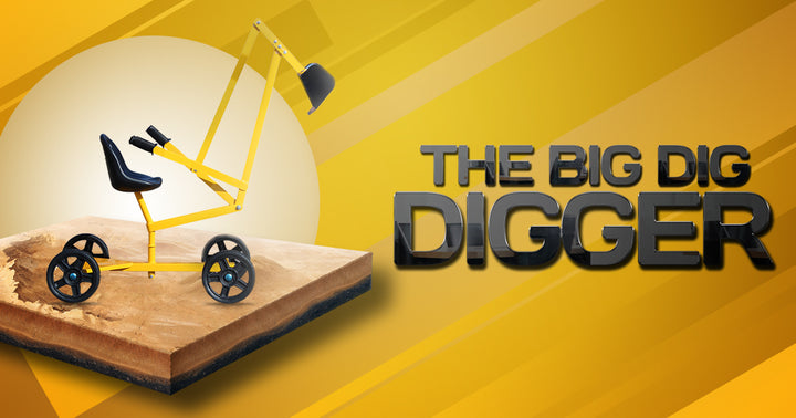 Ride On Digger | SandPit Digger | Gorilla dig & Roll