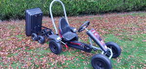 Deal Large Red Go kart + Large tipping Trailer