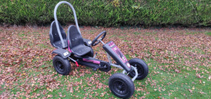 Large Two Seater Pedal Go Kart Pink