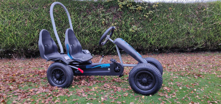 Large Two Seater Pedal Go Kart Blue