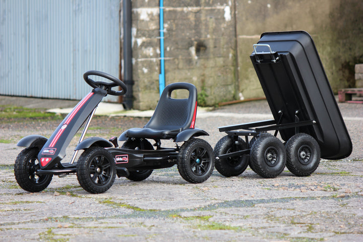 Small Tripping Trailer Black