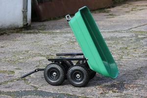 Small Tripping Trailer Green