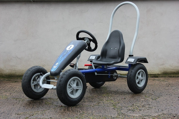 Large Two Seater Pedal Go Kart Yellow
