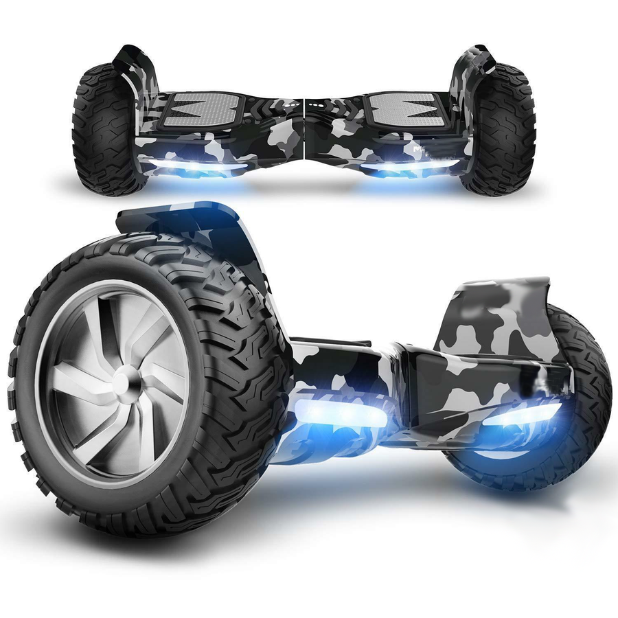 8.5 All Terrain Hummer Hoverboard Board + Bluetooth Speaker.
