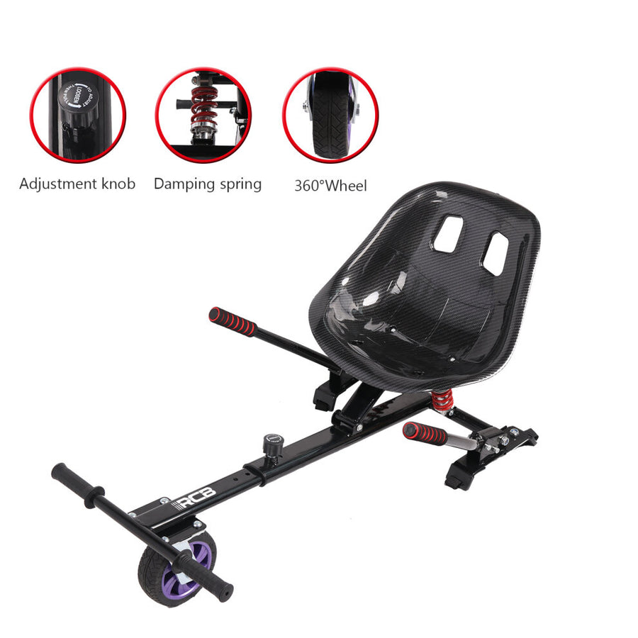 Premium Suspension hoverkart seat hoverboard seat attachment