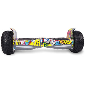 8.5 Hip Hop All Terrain Hummer Hoverboard Board hiphop + Bluetooth Speaker