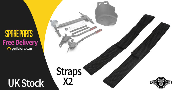 HOVERKART REPLACEMENT STRAPS